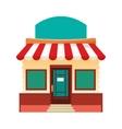 colorful store facade icon vector image