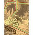 vintage urban grunge bmx vector image