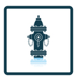 Fire hydrant icon vector image