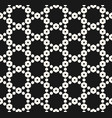 geometric seamless pattern with delicate lattice vector image