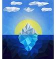 Iceberg vector image