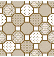 japanese style tile seamless pattern vector image