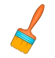 Paint brush icon cartoon style vector image