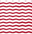 chevron vintage background red vector image