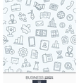 Business strategy wallpaper Black and white vector image