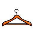 cartoon image of hanger icon vector image