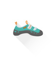 color alpinism equipment shoes icon vector image
