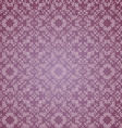 floral design lilac seamless vector image vector image