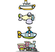 Toy Transportation vector image