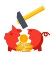 Financial Crisis Concept vector image