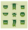 eco banners vector image