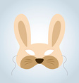 Rabbit Mask vector image