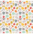 School seamless pattern with education icons and vector image vector image