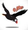 puffin bird 7 vector image vector image