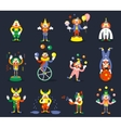 Clown characters vector image