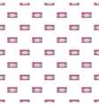 Video cassette pattern cartoon style vector image