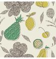 fruit drawing wallpaper vector image vector image