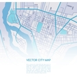 city map background vector image