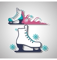 Skating icon design vector image