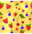 berries background vector image