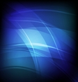 Abstract background with blue line wave vector image