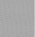 Black and white angular zig zag line pattern vector image