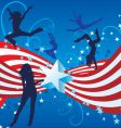 independence day dance vector image