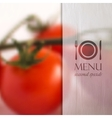 restaurant menu design with background of bunch of vector image