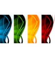 Vector set of banners vector image
