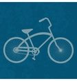 Vintage Bicycle Retro bike vector image