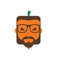 halloween guy theme vector image