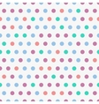 background with colorful dots seamless vector image
