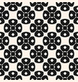 geometric monochrome ornament seamless pattern vector image