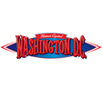 Washington DC Nations Capital vector image