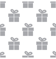 New Gift seamless pattern vector image