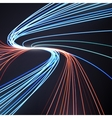 Abstract lines background motion design vector image