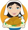 turkey pilgrim vector image