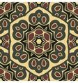 Seamless ornament boho-chic vector image