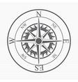 Compass design vector image