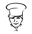 Modern young chef or cook vector image vector image