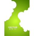 Abstract green corporate design vector image