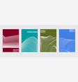 minimal covers design cool halftone gradients vector image