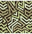 Graffiti grunge geometric seamless pattern vector image