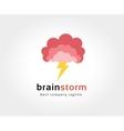 Abstract brain logo icon concept Logotype template vector image