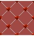 Seamless Polygonal Hearts Pattern vector image