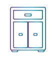 ofice drawers icon vector image