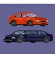 Stylish Retro Car vector image