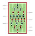 Table Football vector image
