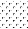 gasoline pump nozzle pattern vector image