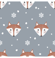 Fox background vector image